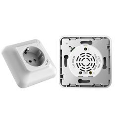 Google Assistant Compatible WIFI Wall Socket Excellent Corrosion Resistance