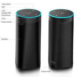 Home Audio 5Wx2 Voice System Alexa Smart Speaker 5.5-6.5 Hours Charging Time